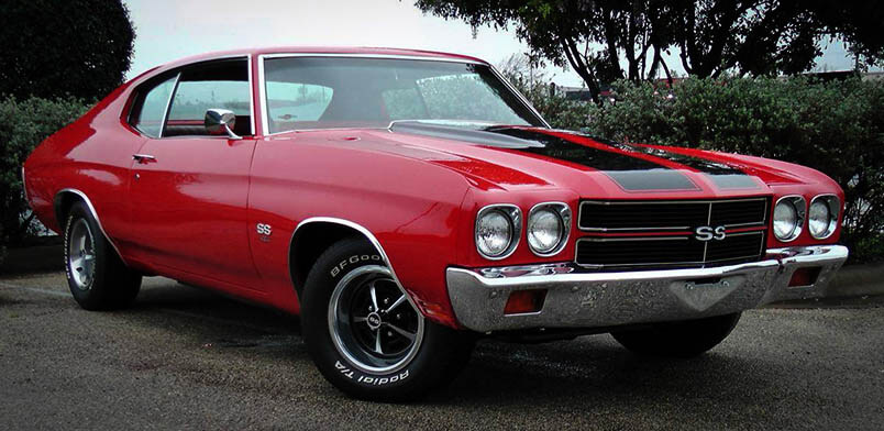 Best Classic Muscle Cars 1970 Chevy Chevelle SS