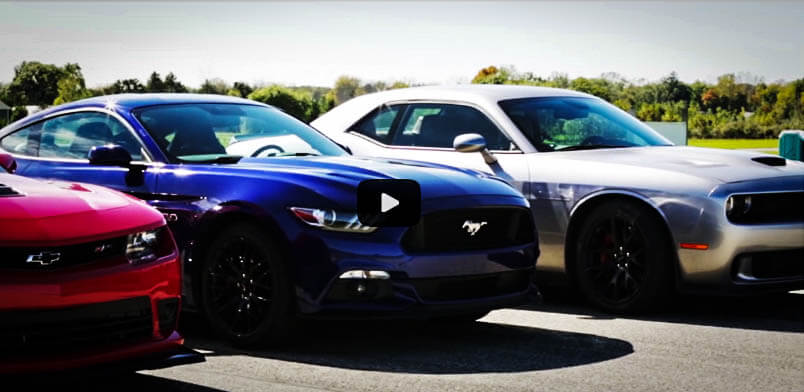 New Muscle Cars of 2015