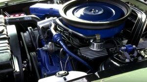 Best Muscle Cars 1968 Ford Mustang Shelby GT500 Engine