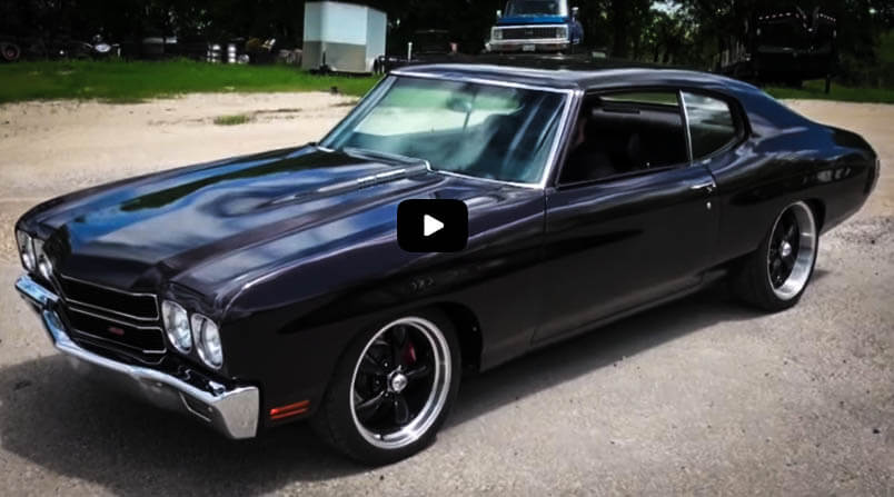 Best Muscle Cars 1970 Chevy Chevelle SS LS6 454 V8