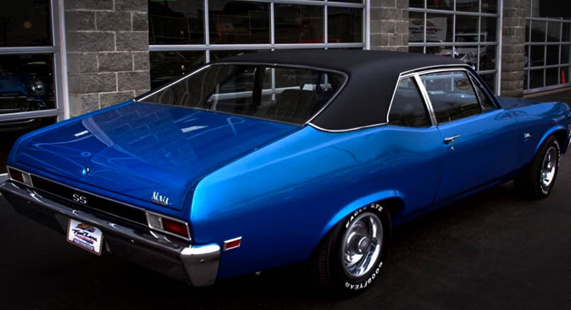 Best Muscle Cars Chevy Nova SS Back