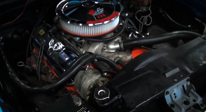 Best Muscle Cars Chevy Nova SS Engine