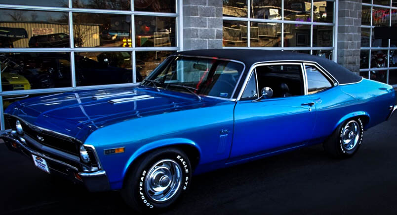 Best Muscle Cars Chevy Nova SS Front
