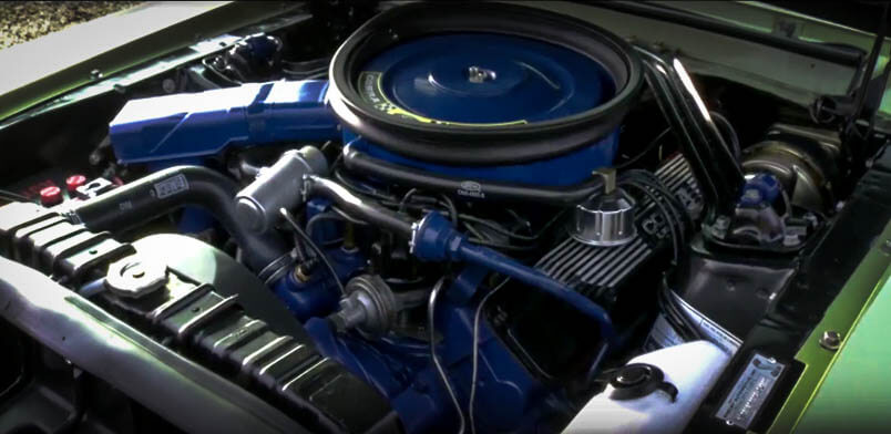 Best Muscle Cars Ford Mustang Shelby Engine