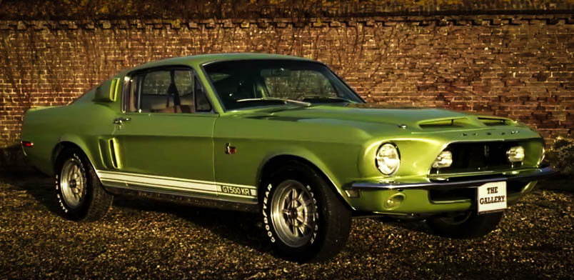 Best Muscle Cars Ford Mustang Shelby Front