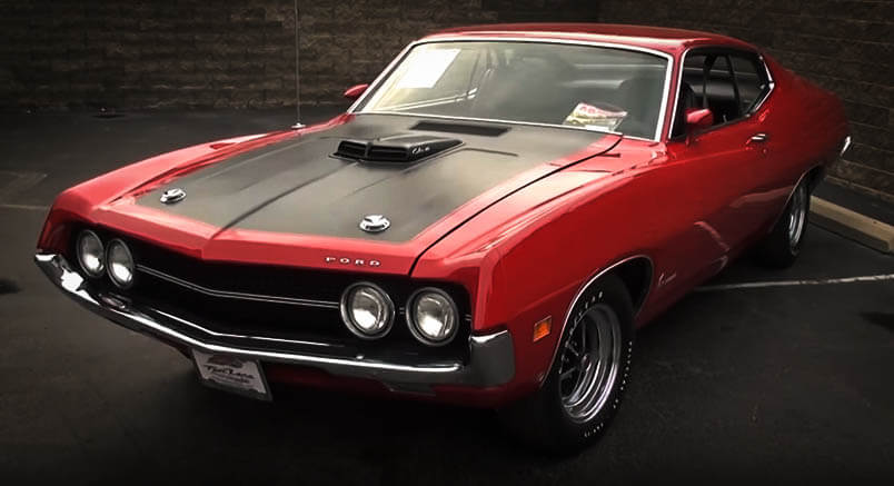 Best Muscle Cars Ford Torino Cobra Front