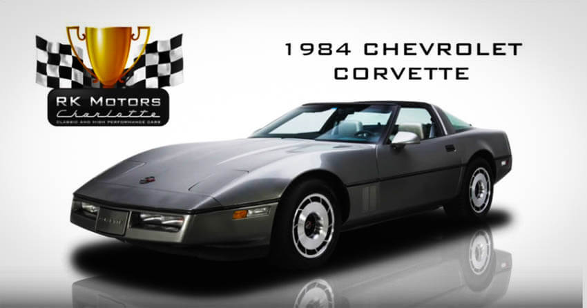Affordable Muscle Cars 1984 Chevrolet Corvette 1