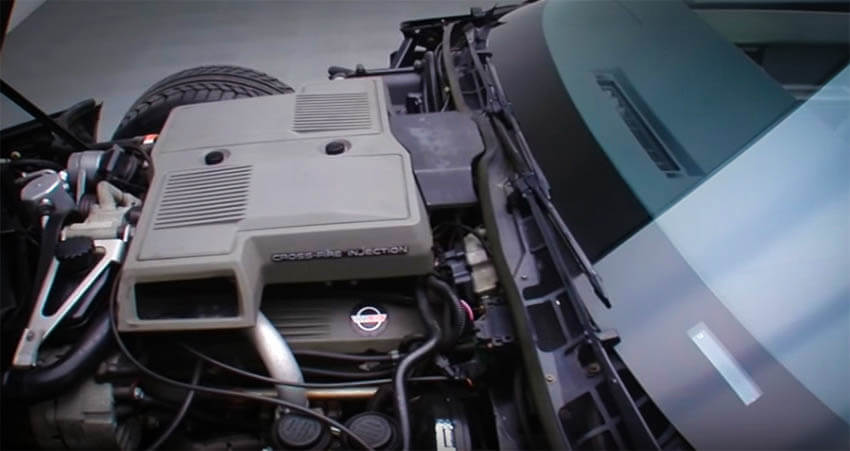 Affordable Muscle Cars 1984 Chevrolet Corvette Engine