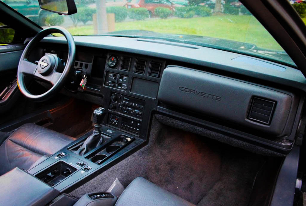 Affordable Muscle Cars 1984 Chevrolet Corvette Interior