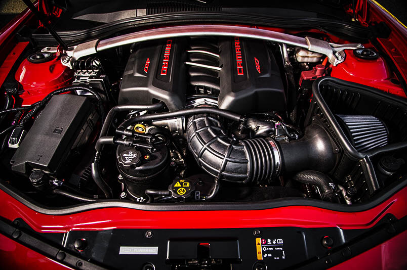 New Muscle Cars Chevy Camaro Z28 Engine