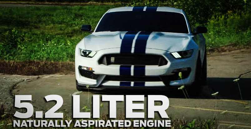 New Muscle Cars Mustang Shelby GT350 Front Side