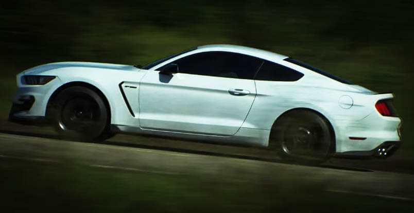 New Muscle Cars Mustang Shelby GT350 Side