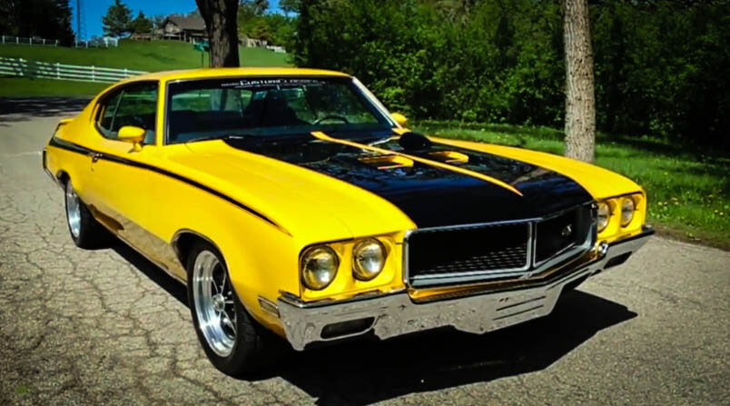 Best Classic Muscle Cars 1970 Buick GSX