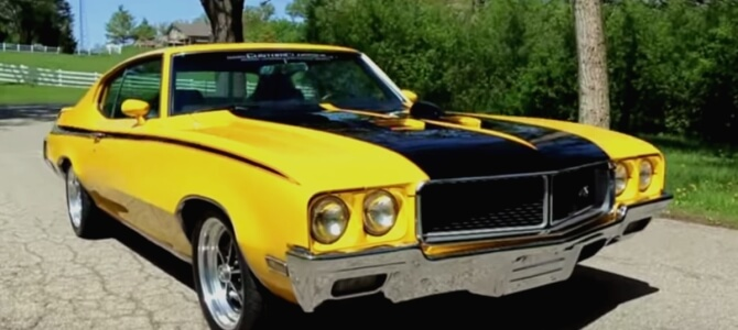 Best Classic Muscle Cars 1970 Buick GSX Stage