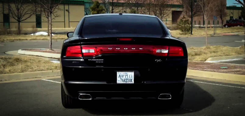 Modern Muscle Cars Dodge Charger RT Back