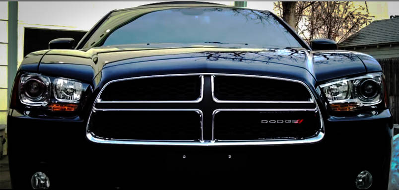 Modern Muscle Cars Dodge Charger RT Front