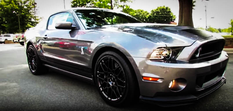 Modern Muscle Cars Ford Mustang Shelby GT500 Front