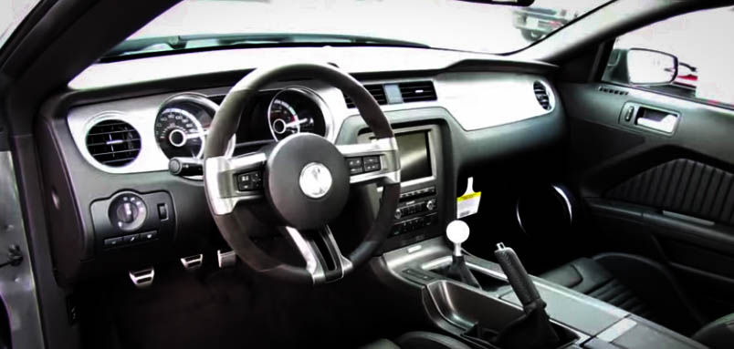 Modern Muscle Cars Ford Mustang Shelby GT500 Inside