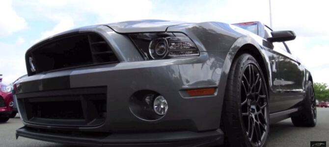Modern Muscle Cars Mustang Shelby GT