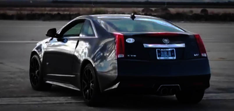 Modern Muscle Cars Cadillac CTS-V Coupe Back