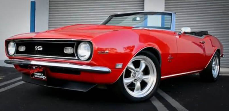 Awesome Muscle Car 1968 Camaro Super Sport