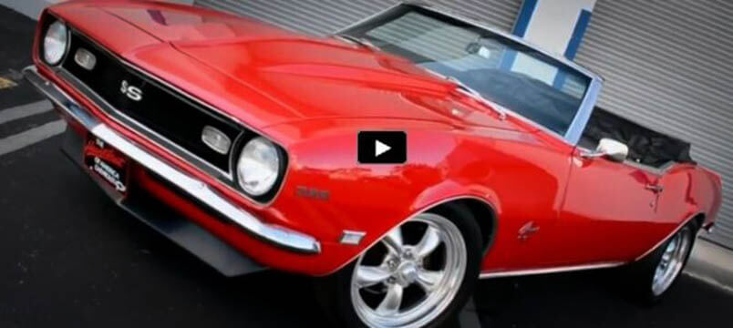 Awesome Muscle Car 1968 Chevy Camaro SS Convertible