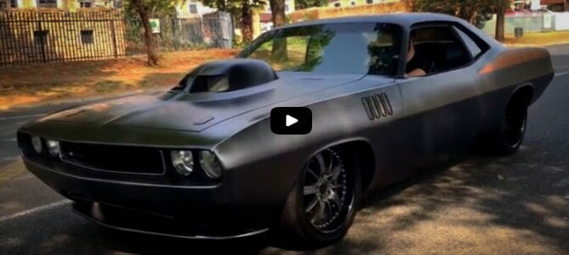 Awesome Muscle Cars Killer Custom 1971 Cuda 605 HEMI V8