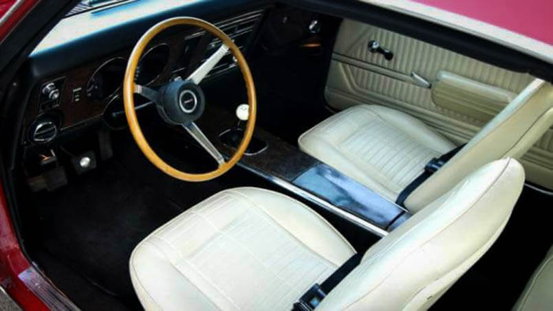Awesome Muscle Car Pontiac Firebird White Interior