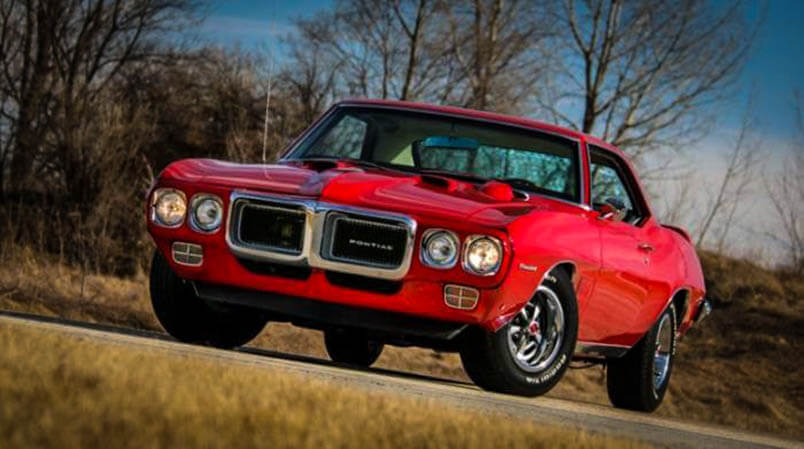 Awesome Muscle Car Restored 1969 Firebird