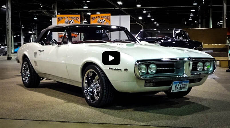 Best Classic Muscle Cars 1967 Pontiac Firebird 400 With Modern Styling