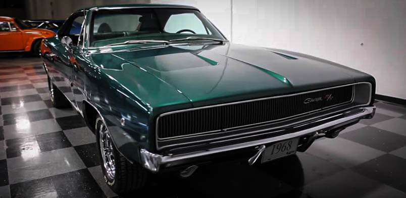 best muscle cars stunning 1968 dodge charger 426 hemi – autos magazine