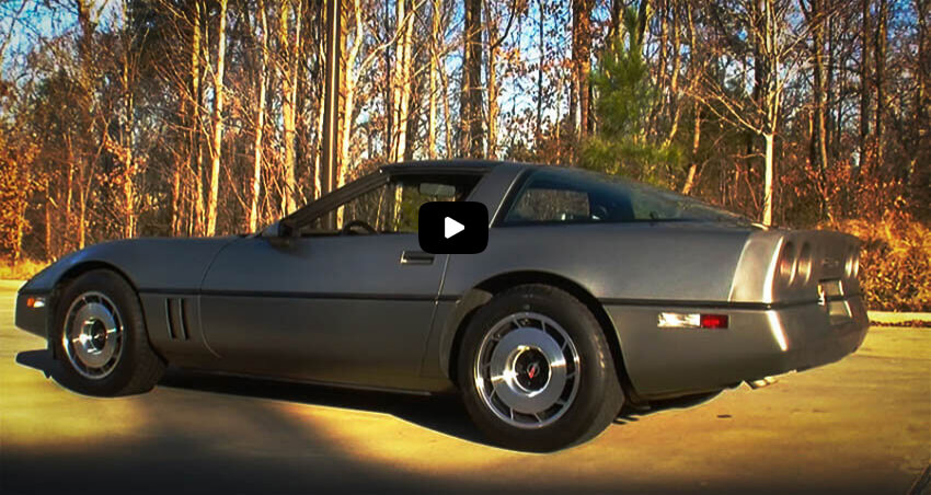Affordable Muscle Cars 1984 Chevrolet Corvette Cover