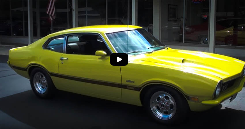 Affordable Muscle Cars 1970 Ford Maverick Cover